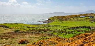 Cenário litoral em Connemara imagem de stock royalty free