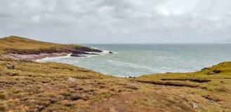 Cenário litoral em Connemara imagens de stock royalty free