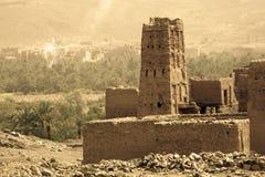 Cenário marroquino Fotos de Stock