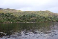 Cenário natural do fiorde de Escócia ocidental perto de Fort William Fotografia de Stock Royalty Free