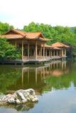 Cenário ocidental do lago Hangzhou fotos de stock royalty free