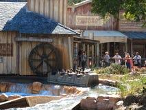 Cenário ocidental selvagem do coaster da água Imagens de Stock