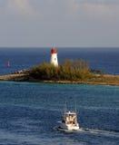 Cenário portuário do Cararibe foto de stock royalty free