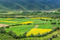 Cenário rural, Shangri-La Imagens de Stock Royalty Free