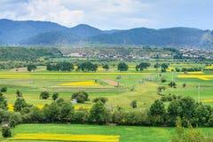 Cenário rural, Shangri-La Imagem de Stock