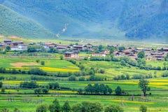 Cenário rural, Shangri-La Fotografia de Stock