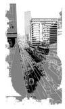 Cenário urbano Foto de Stock Royalty Free