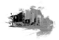 Cenário urbano Fotografia de Stock