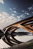 Cenário urbano da ponte Imagens de Stock Royalty Free