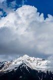 Cenário vertical da montanha - Svaneti, Geórgia Imagens de Stock Royalty Free