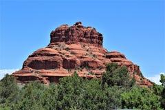 Cen?rio Maricopa County da paisagem, Sedona, o Arizona, Estados Unidos imagens de stock royalty free