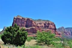 Cen?rio Maricopa County da paisagem, Sedona, o Arizona, Estados Unidos imagem de stock royalty free