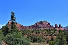 Cen?rio Maricopa County da paisagem, Sedona, o Arizona, Estados Unidos fotos de stock royalty free