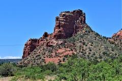 Cen?rio Maricopa County da paisagem, Sedona, o Arizona, Estados Unidos foto de stock