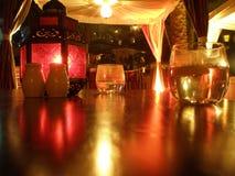 Cena árabe de la noche Imagenes de archivo