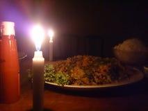 cena fotografía de archivo libre de regalías
