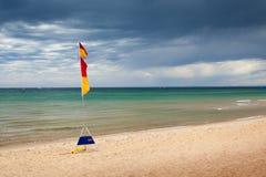Cena australiana da praia Fotografia de Stock Royalty Free