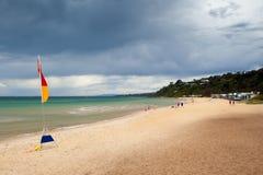 Cena australiana da praia Imagem de Stock Royalty Free