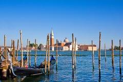 Cena bonita da cidade de Veneza fotos de stock