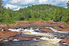 Cena bonita da natureza em Ontário do norte fotografia de stock royalty free