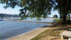 Cena bonita do lago Imagens de Stock Royalty Free