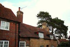 Cena britânica velha do estilo da casa Imagem de Stock Royalty Free