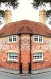 Cena britânica velha do estilo da casa Fotografia de Stock Royalty Free