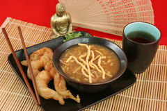 Cena china elegante 2 fotografía de archivo libre de regalías