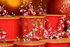 Cena chinesa do ano novo fotos de stock