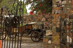 Cena colonial de Taxco, México Imagens de Stock