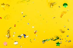 Cena colorida brilhante do carnaval ou do partido Fotografia de Stock