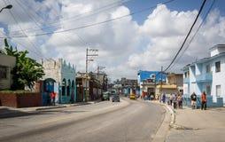 Cena cubana da rua Fotografia de Stock