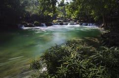 Cena da cachoeira Foto de Stock