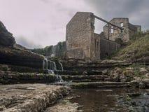Cena da cachoeira Fotografia de Stock Royalty Free