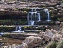 Cena da cachoeira Fotos de Stock
