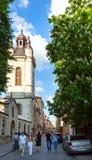 Cena da cidade de Lviv (Ucrânia). MAIO 10, 2012 Imagem de Stock Royalty Free