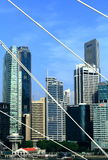 Cena da cidade de singapore Foto de Stock