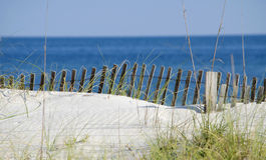 Cena da costa do golfo Fotos de Stock Royalty Free
