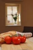 Cena da cozinha da casa de campo Imagens de Stock Royalty Free
