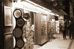 Cena da loja de lembrança Imagem de Stock