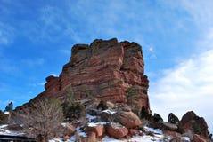 Cena da montanha de Colorado Imagens de Stock