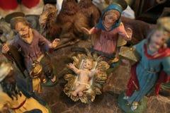 Cena da natividade Imagem de Stock