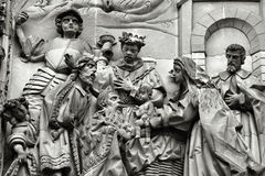 Cena da natividade Foto de Stock Royalty Free
