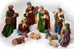 Cena da natividade Imagens de Stock Royalty Free
