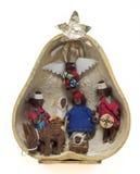 Cena da natividade de Tarahumara Foto de Stock