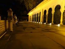 Cena da noite Fotografia de Stock