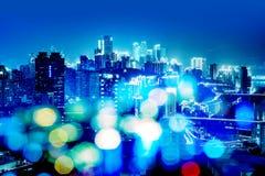 Cena da noite de Chongqing Imagens de Stock