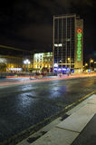 Cena da noite em Dublin City Centre Imagem de Stock Royalty Free