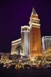 Cena da noite em Las Vegas Foto de Stock Royalty Free