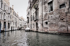 Cena da obscuridade de Veneza Imagens de Stock Royalty Free